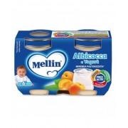 Mellin Merenda Albicocca E Yogurt 2x120g