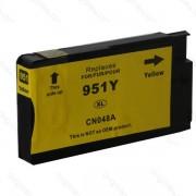 HP : Cartuccia Ink-Jet Compatibile ( Rif. 951XL Y ( CN048A ) ) - Giallo - ( 1.500 Copie )