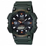 Casio orologio uomo aq-s810w-3avdf tough solar collezione sport