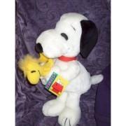 "14"" Tall Snoopy Hugging Woodstock Plush"