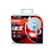 Osram Night Breaker Laser H7 + 130 %-s autó izzó, duó csomag