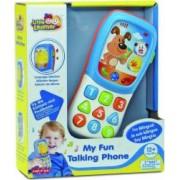 Primul meu telefon distractiv Little Learner confectionata din plastic rezistent Multicolor
