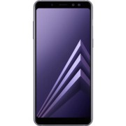 "Telefon mobil Samsung Galaxy A8 (2018), Procesor Octa-Core 1.6GHz/2.2GHz, Super AMOLED 5.6"", 4GB RAM, 32GB Flash, 16MP, Wi-Fi, 4G, Dual Sim, Android (Violet) + Cartela SIM Orange PrePay, 6 euro credit, 6 GB internet 4G, 2,000 minute nationale si internati"