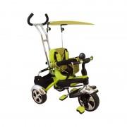 Tricicleta multifunctionala Happy Days Verde Baby Mix