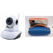 Mirza Wifi CCTV Camera and Mini Xtreme K5 Plus Bluetooth Speaker for SAMSUNG GALAXY CORE PRIME (Wifi CCTV Camera with night vision |Mini Xtreme K5 + Bluetooth Speaker)