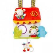 Детска музикална играчка - Къщичка с LED светлини - BabyFehn, 263505