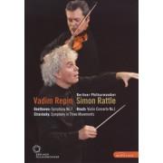 Berliner Philharmoniker/Vadim Repin/Simon Rattle: Beethoven/Bruch/Stravinsky [DVD]