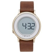 Rip Curl Daybreak Digital Leather Watch Rose Gold