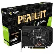 Видео карта nVidia GeForce GTX 1660, 6GB, Palit StormX OC, PCI-E 3.0, GDDR5, 192-bit, DisplayPort, HDMI, DVI, PALIT GTX1660 STORMX OC 6GB