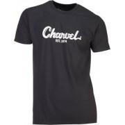 Charvel T-Shirt Charvel Black Logo XXL