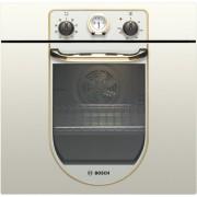 Cuptor electric incorporabil Bosch HBA23BN21, clasa energetica A, 7 functii, timer analogic, grill, 61 litri, comenzi mecanice, alb perlat rustic