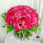 "Buchet 101 trandafiri ""Passion in Pink"""