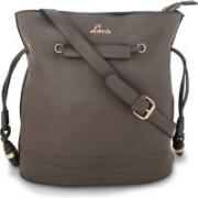 Lavie Grey Women Medium Handbag Grey Hobo