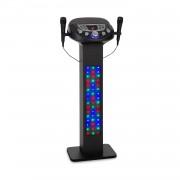 Auna KaraBig LightUP, karaoke rendszer, BT, 2xmikrofon, multicolor, USB, 40W RMS, max. 640W (KS1-KaraBig LighUp)