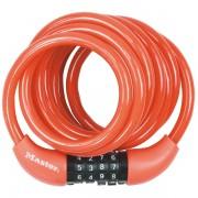Spirálový kombinační zámek na kolo Master Lock 8221EURDPROCOL - 1,8m - červený
