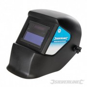 Welding Helmet Auto Darkening Variable & Grinding - DIN 3/11EW 934295 5024763136139 Silverline