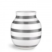 Omaggio Vase Silber 20 cm Kähler