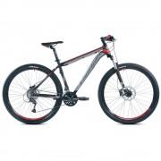 "Capriolo Level 9.4 29er kerékpár 20"" Fekete-Szürke-Piros"