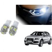 Auto Addict Car T10 5 SMD Headlight LED Bulb for Headlights Parking Light Number Plate Light Indicator Light For Audi Q5