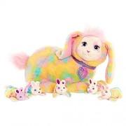 Bunny Surprise Stuffed Figure - Breezy with her Bunnies