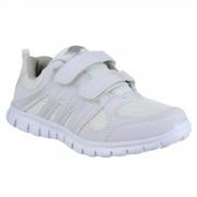 Mirak Milos Childrens sport schoenen / jongens-Trainers Wit 28 EUR