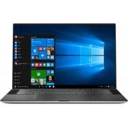 "Ultrabook Dell XPS 9500 (Procesor Intel® Core™ i7-10750H (12M Cache, up to 5.00 GHz), Comet Lake, 15.6"" FHD+, 8GB, 512GB SSD, nVidia GeForce GTX 1650Ti @4GB, FPR, Win10 Pro, Argintiu)"