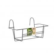 Elho green basics balcony rack 80 antraciet