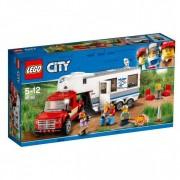 Lego 60182 Lego City Pick Up Truck En Caravan