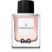 Dolce & Gabbana 3 L'Imperatrice Eau de Toilette para mulheres 50 ml