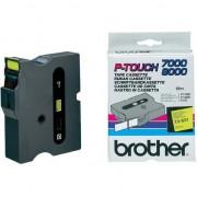 Banda continua laminata Brother TX651, 24mm, 15m