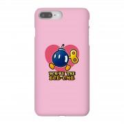 Nintendo Funda móvil Nintendo Super Mario You're The Bob-Omb para iPhone y Android - iPhone 8 Plus - Carcasa rígida - Brillante