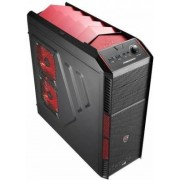 Aerocool Xpredator X1 Midi-Tower - schwarz/rot