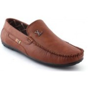 MOONSTER Stylish Mens And Boys Trendy Loafer Loafers For Men(Brown)
