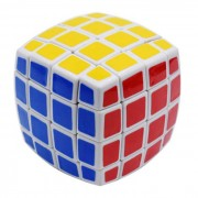 QJ4 4x4x4 Magic IQ cubo juguetes educativos - amarillo + azul + multicolor