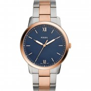 Fossil FS5498 The Minimalist 3h Analog Blue Dial Men's Watch