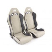 SPORT SEAT SET SPEED (1xleft/1xright) BLACK/GREY or GREY