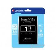 HDD extern Verbatim Store 'n' go 1TB USB 3.0, negru