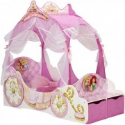Disney Prinsessa vagnsäng utan madrass - Barnsäng 648964
