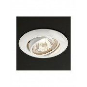Spot incastrabil orientabil ELC 3072 din metal alb 70153 Smarter