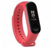 Curea silicon Tech-Protect Smooth Xiaomi Mi Band 3/4 Red