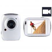 Somikon 3in1-Action-Cam DV-1200 mit Full HD & 6,1-cm-Touchscreen