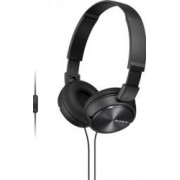 Casti stereo Sony MDR-ZX310AP cu microfon Negre