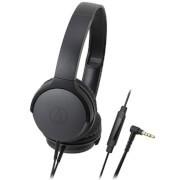 Audio Technica Portable On Ear Headphones - Black