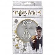 Set Harry Potter Breloc Harry Potter Triangle Deathly Hallows + Brosa Harry Potter Triangle Deathly Hallows