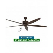 CasaFan Ventilador De Techo Casafan 518083 Eco Elements 180 Roble Antiguo O Nogal/ Marrón Antiguo
