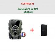 NATURACAM® COFFRET XL Caméra NATURACAM® SP1 ou 2 + batterie suppl.