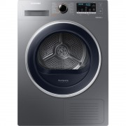 Uscator de rufe Samsung DV90M5010QX, Condensare cu pompa de caldura, 9 kg, Clasa A++, Display, Smart Check, Inox