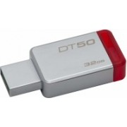 Kingston USB DataTraveler 50 32GB USB 3.0 Flash Drive (DT50/32GBIN), 32 GB Pen Drive(Grey)