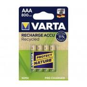 Varta 5681 - 4 buc Baterii reîncărcabile ACCU RECYCLED AAA Ni-MH/800mAh/1,2V
