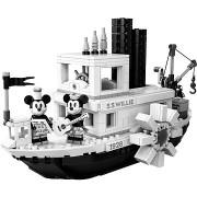 LEGO 21317 Ideas Willie gőzhajó